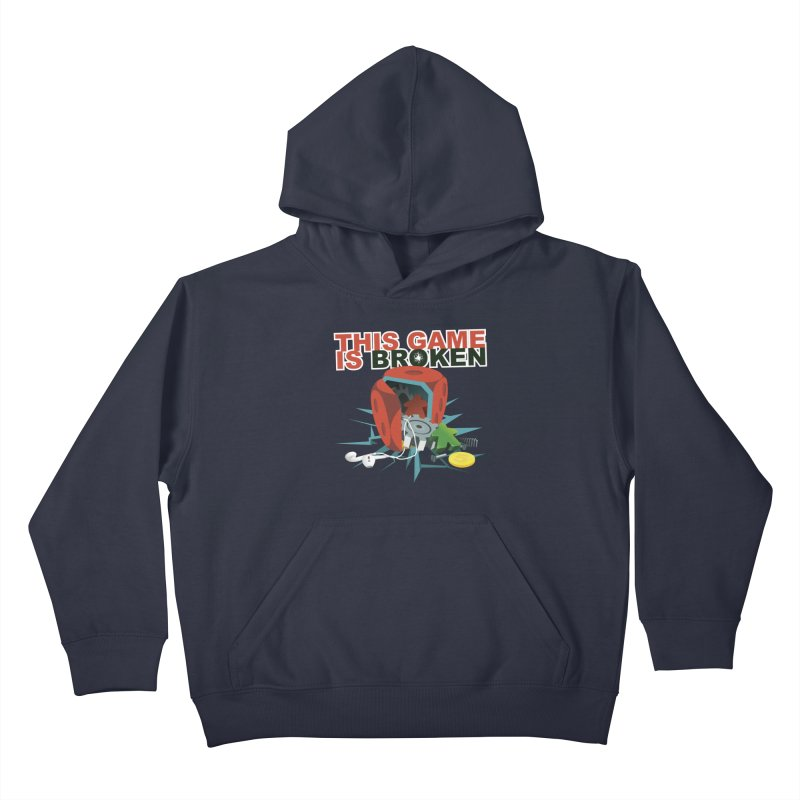 The Official This Game is Broken Brand Kids Pullover Hoody by This Game is Broken Shop