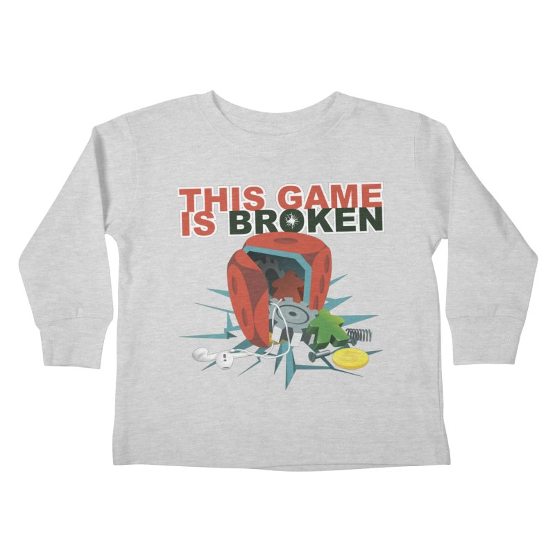 The Official This Game is Broken Brand Kids Toddler Longsleeve T-Shirt by This Game is Broken Shop