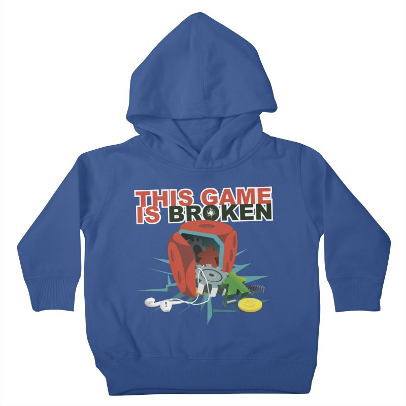 The Official This Game is Broken Brand Kids Toddler Pullover Hoody by This Game is Broken Shop