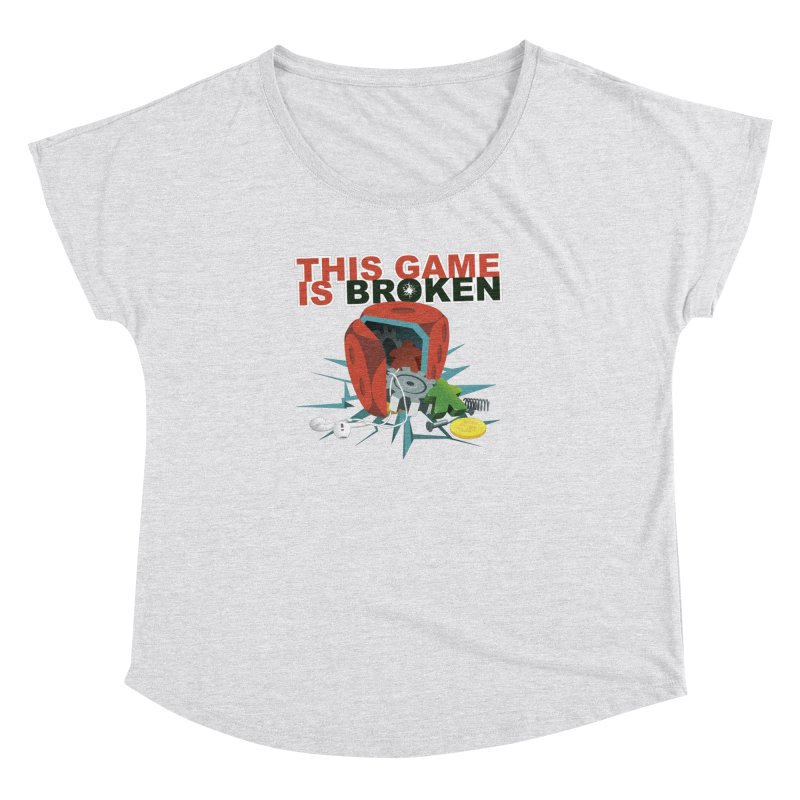The Official This Game is Broken Brand Women's Dolman Scoop Neck by This Game is Broken Shop