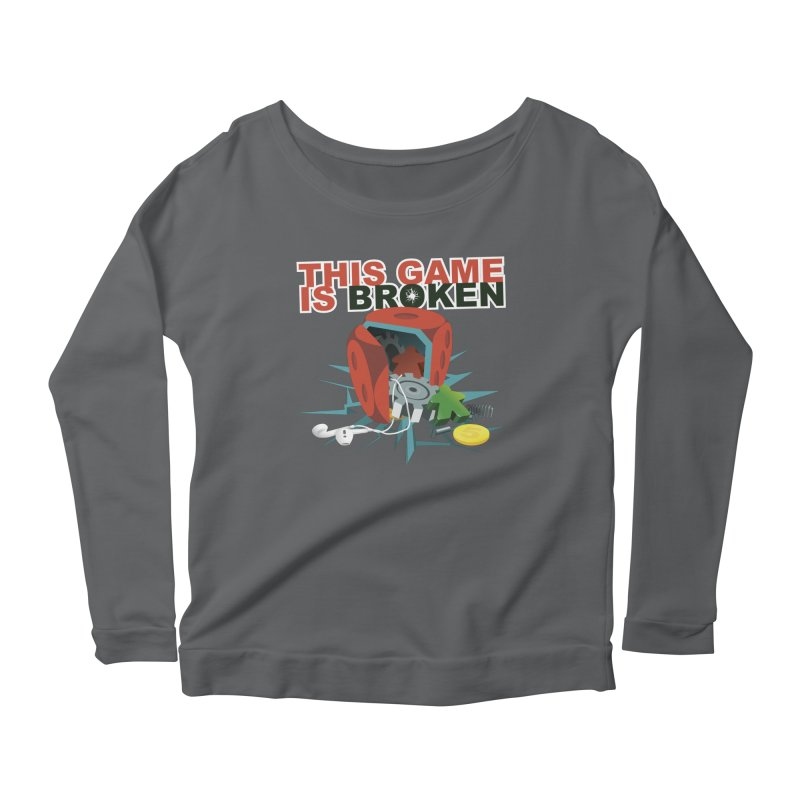 The Official This Game is Broken Brand Women's Scoop Neck Longsleeve T-Shirt by This Game is Broken Shop