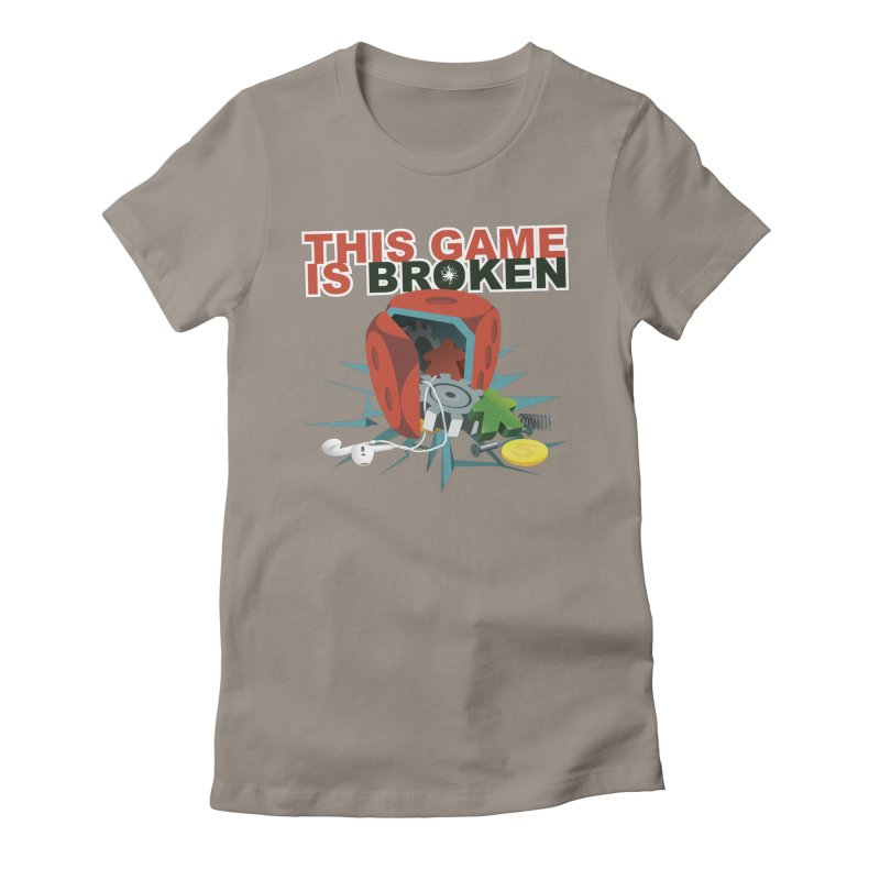 The Official This Game is Broken Brand Women's Fitted T-Shirt by This Game is Broken Shop
