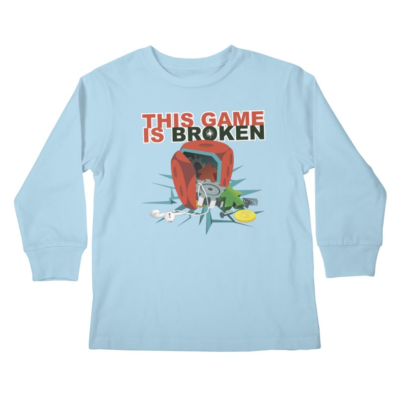 The Official This Game is Broken Brand Kids Longsleeve T-Shirt by This Game is Broken Shop
