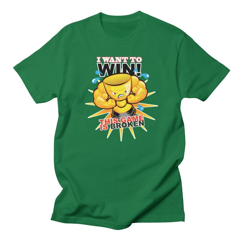 I want to WIN! Men's Regular T-Shirt by This Game is Broken Shop