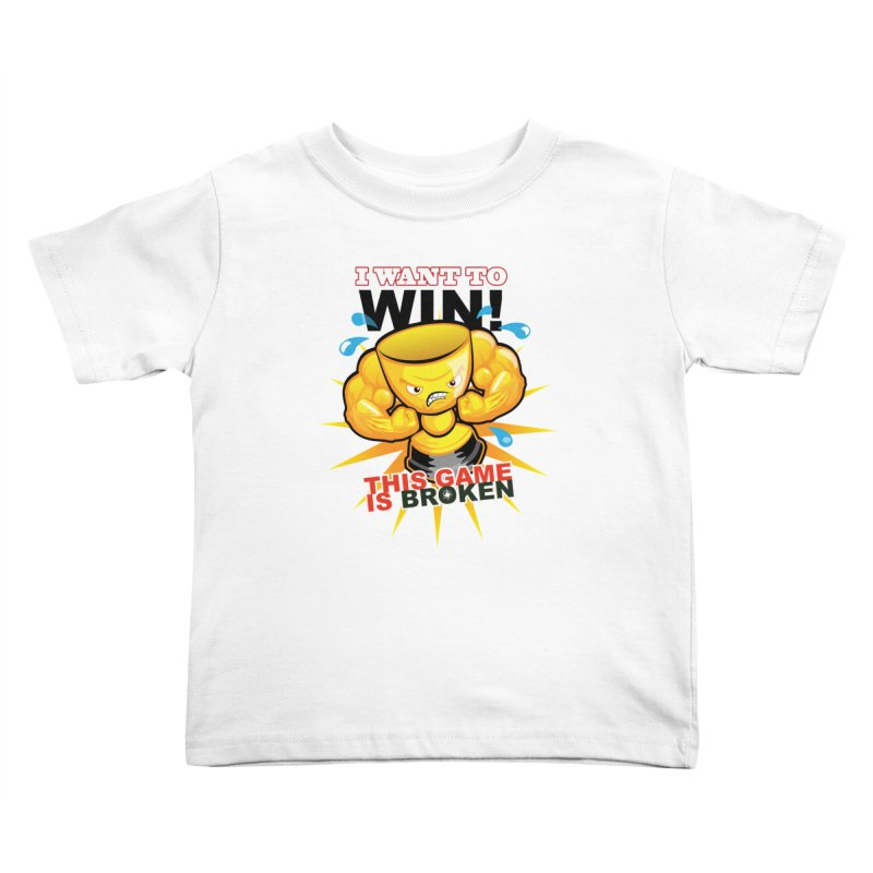 I want to WIN! Kids Toddler T-Shirt by This Game is Broken Shop