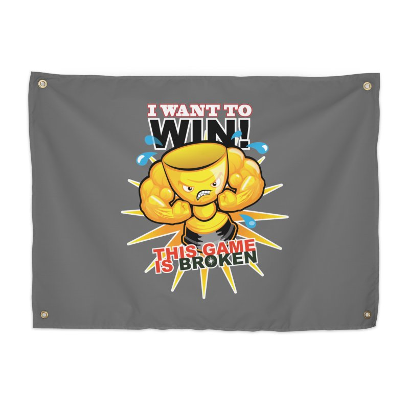 I want to WIN! Home Tapestry by This Game is Broken Shop