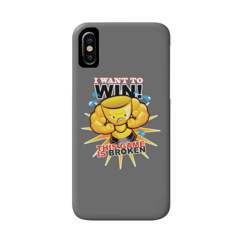 I want to WIN! Accessories Phone Case by This Game is Broken Shop
