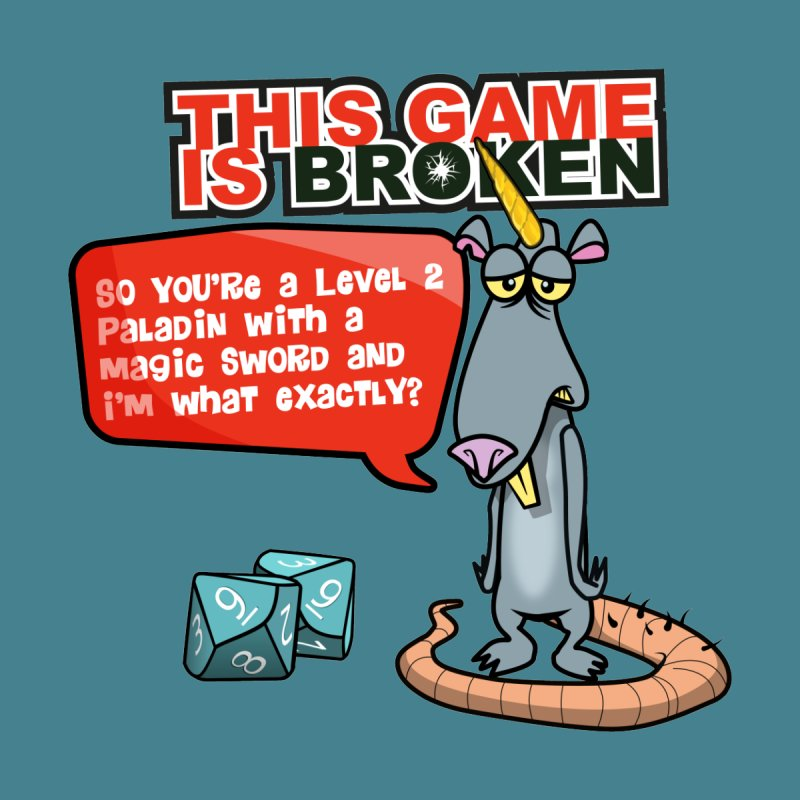 What am I? Home Stretched Canvas by This Game is Broken Shop
