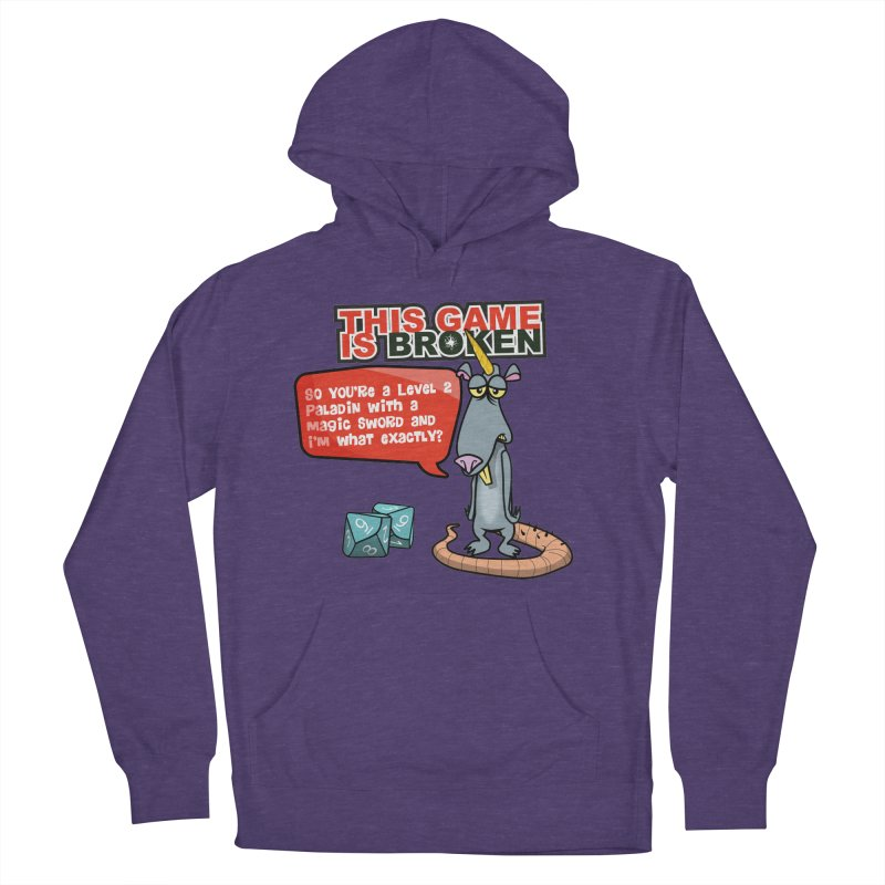 What am I? Women's French Terry Pullover Hoody by This Game is Broken Shop