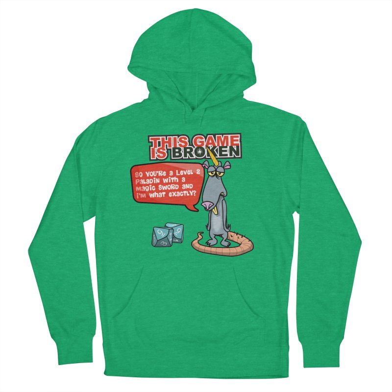 What am I? Men's French Terry Pullover Hoody by This Game is Broken Shop