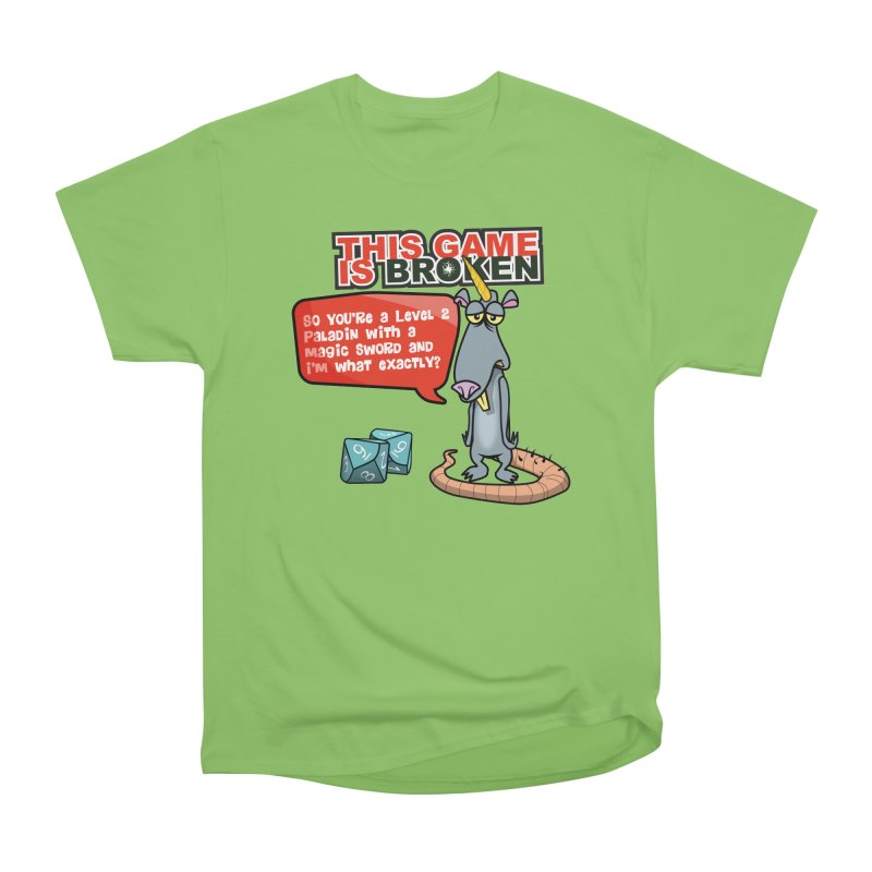What am I? Men's Heavyweight T-Shirt by This Game is Broken Shop