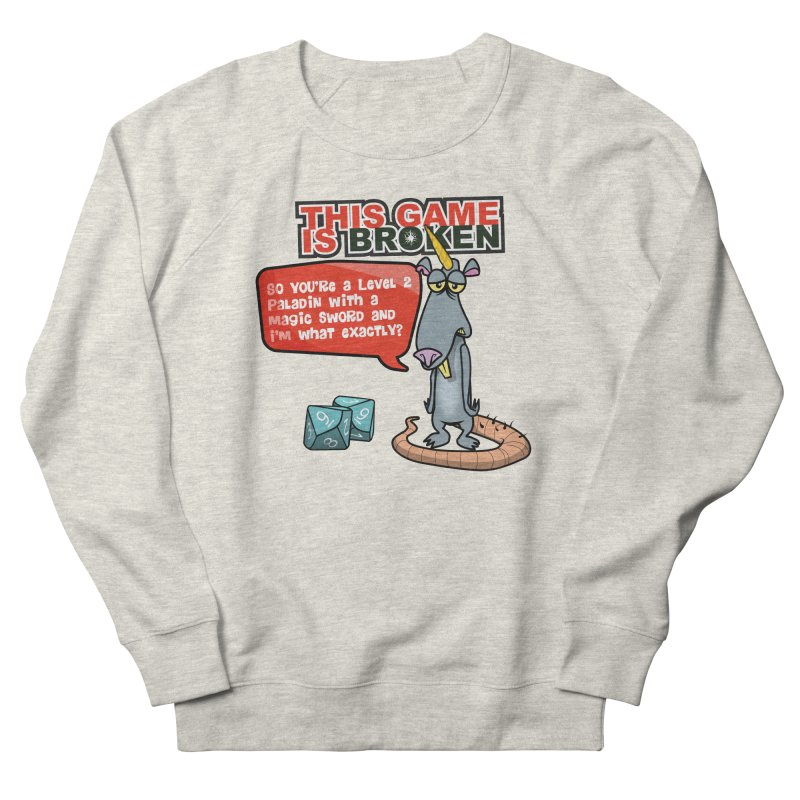 What am I? Women's French Terry Sweatshirt by This Game is Broken Shop