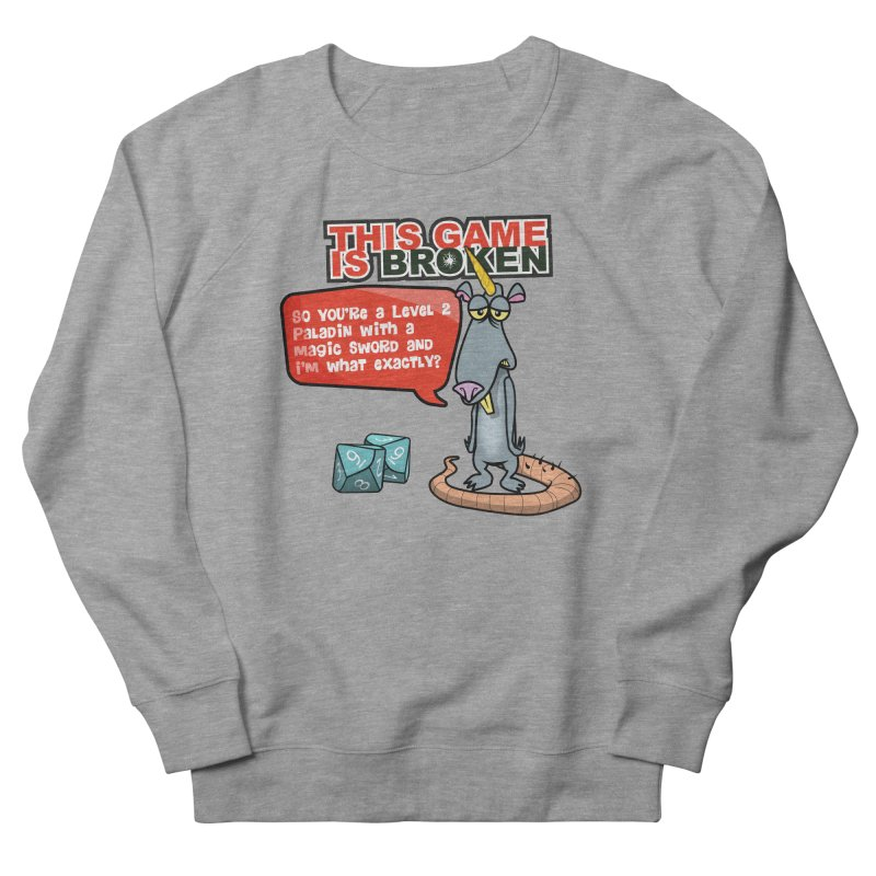 What am I? Men's French Terry Sweatshirt by This Game is Broken Shop