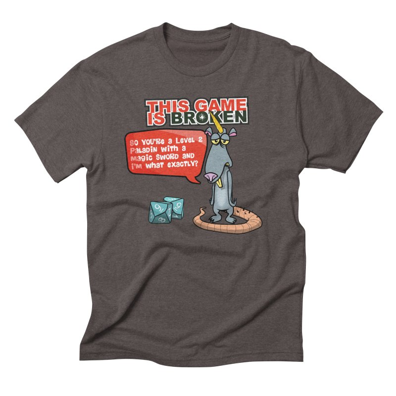 What am I? Men's Triblend T-Shirt by This Game is Broken Shop