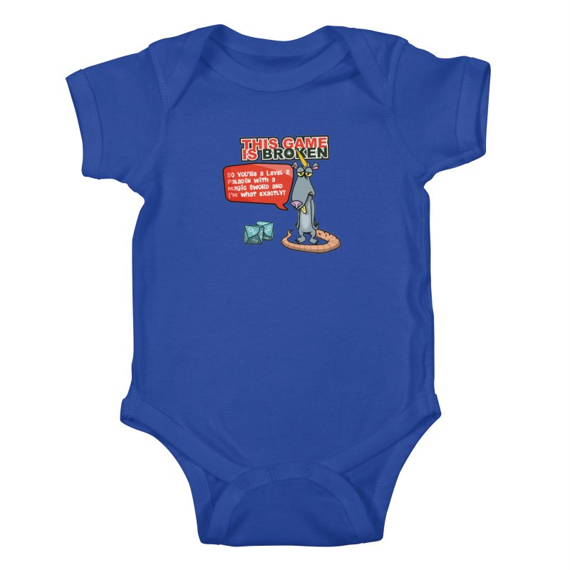 What am I? Kids Baby Bodysuit by This Game is Broken Shop