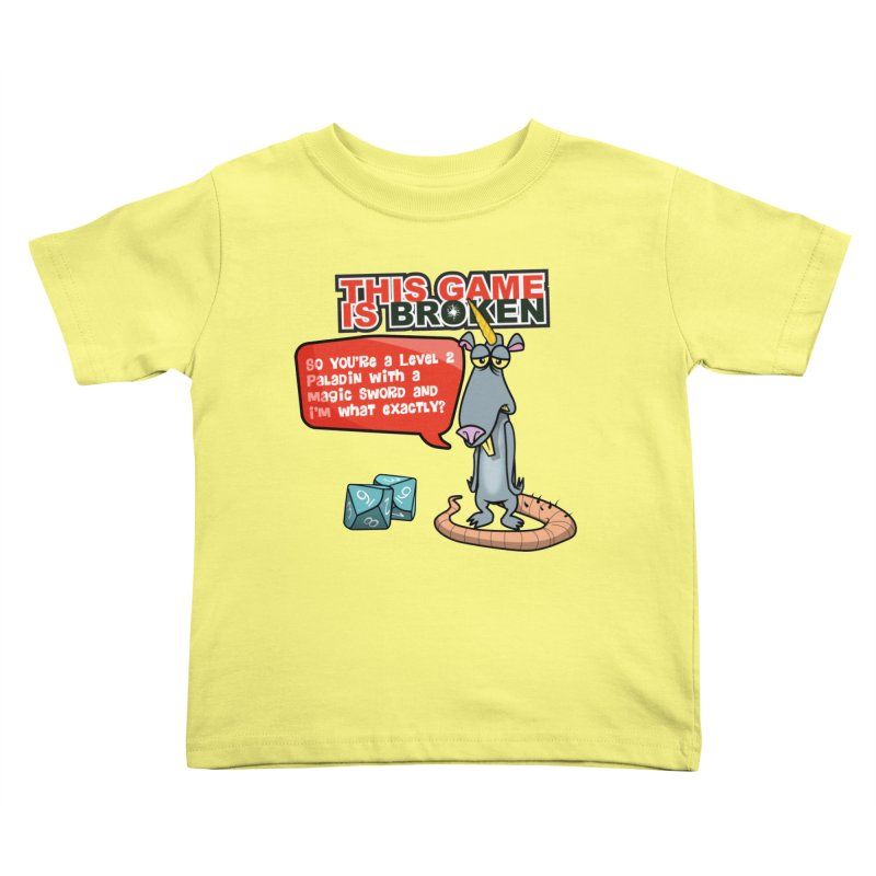 What am I? Kids Toddler T-Shirt by This Game is Broken Shop