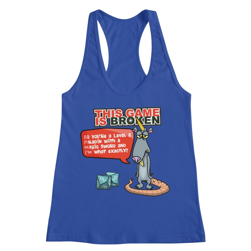 What am I? Women's Racerback Tank by This Game is Broken Shop