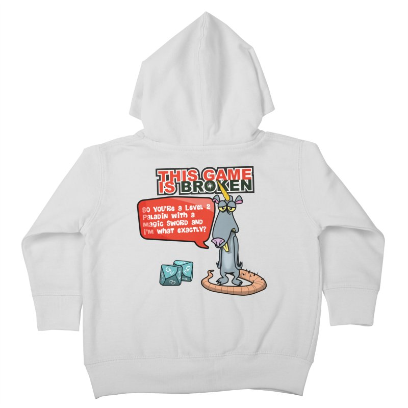 What am I? Kids Toddler Zip-Up Hoody by This Game is Broken Shop
