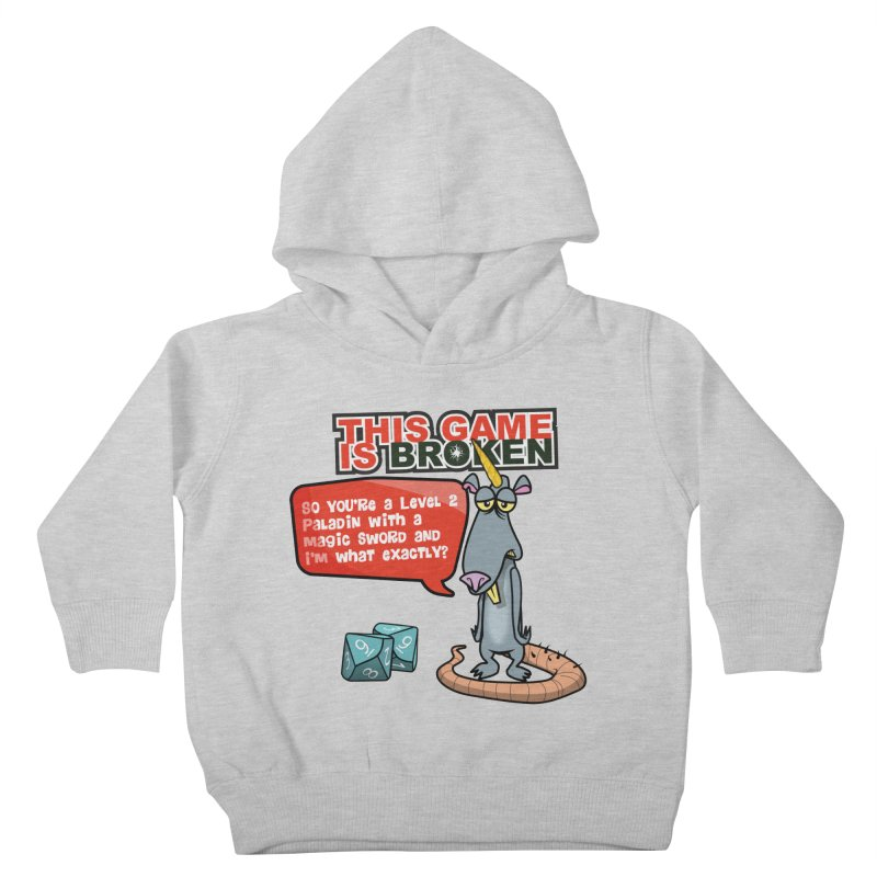 What am I? Kids Toddler Pullover Hoody by This Game is Broken Shop