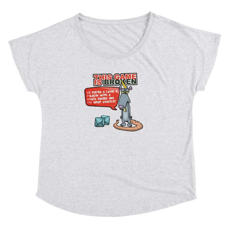 What am I? Women's Dolman Scoop Neck by This Game is Broken Shop