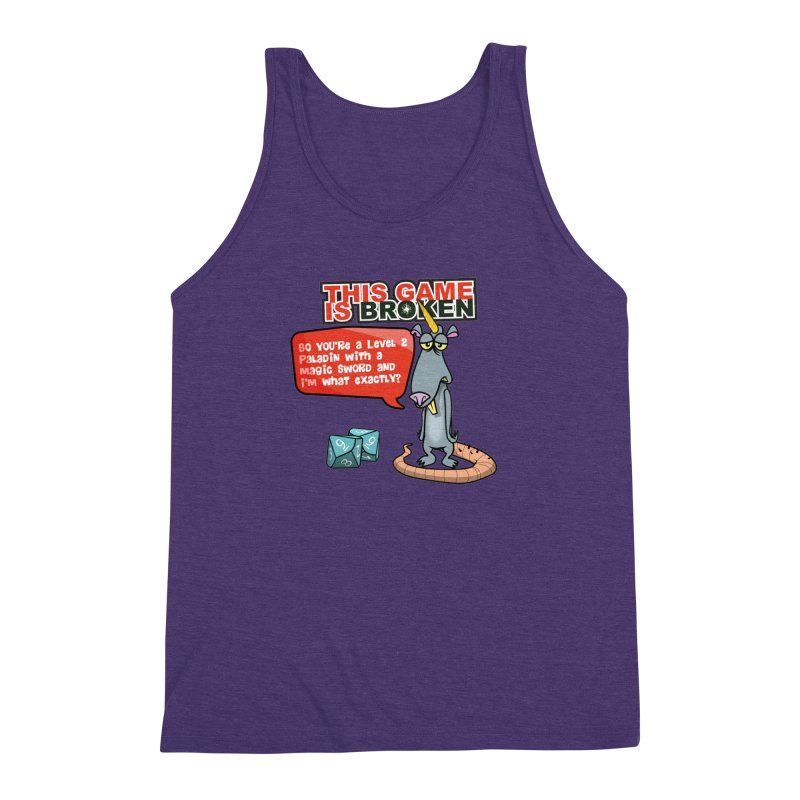 What am I? Men's Triblend Tank by This Game is Broken Shop