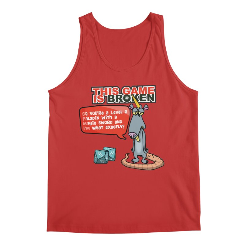 What am I? Men's Regular Tank by This Game is Broken Shop