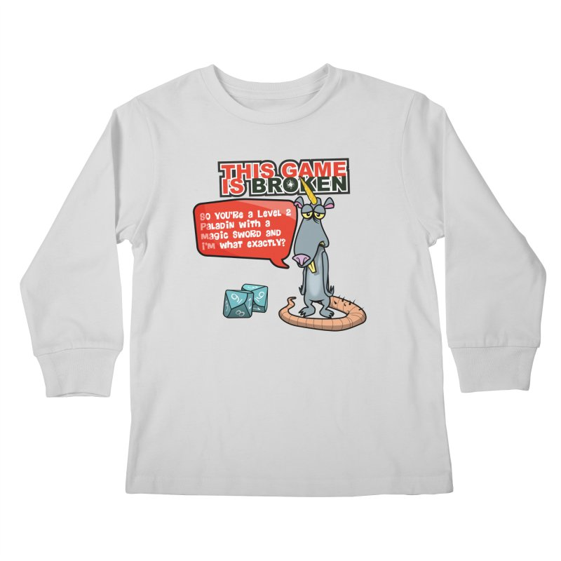 What am I? Kids Longsleeve T-Shirt by This Game is Broken Shop