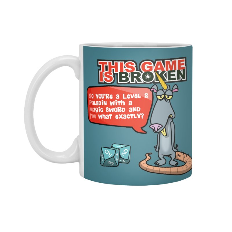 What am I? Accessories Standard Mug by This Game is Broken Shop