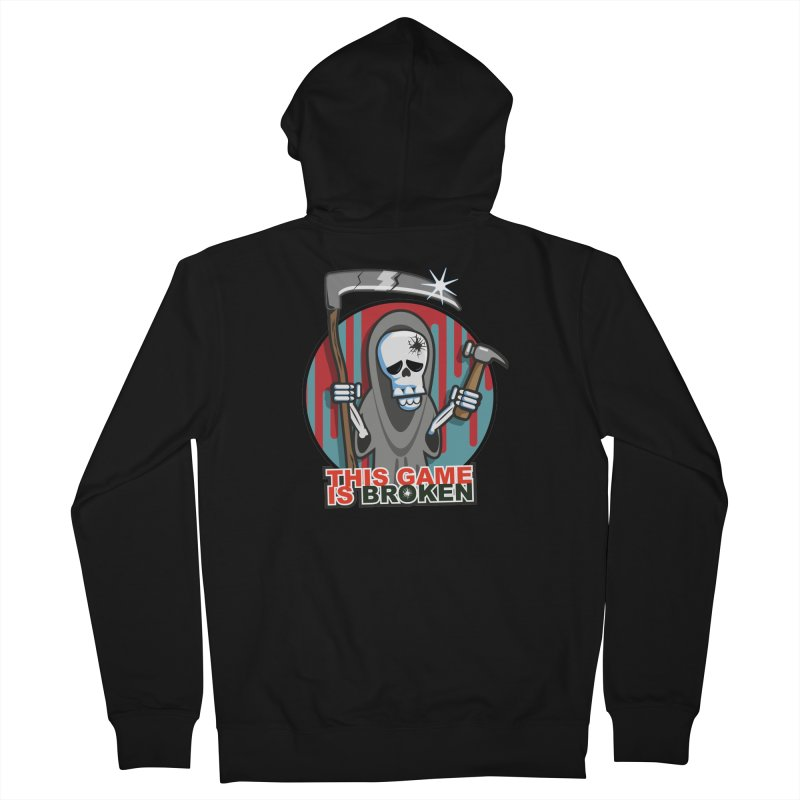 This Game Hates Me Men's French Terry Zip-Up Hoody by This Game is Broken Shop