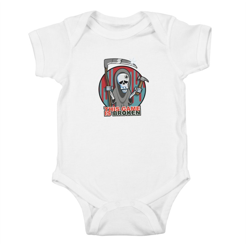 This Game Hates Me Kids Baby Bodysuit by This Game is Broken Shop