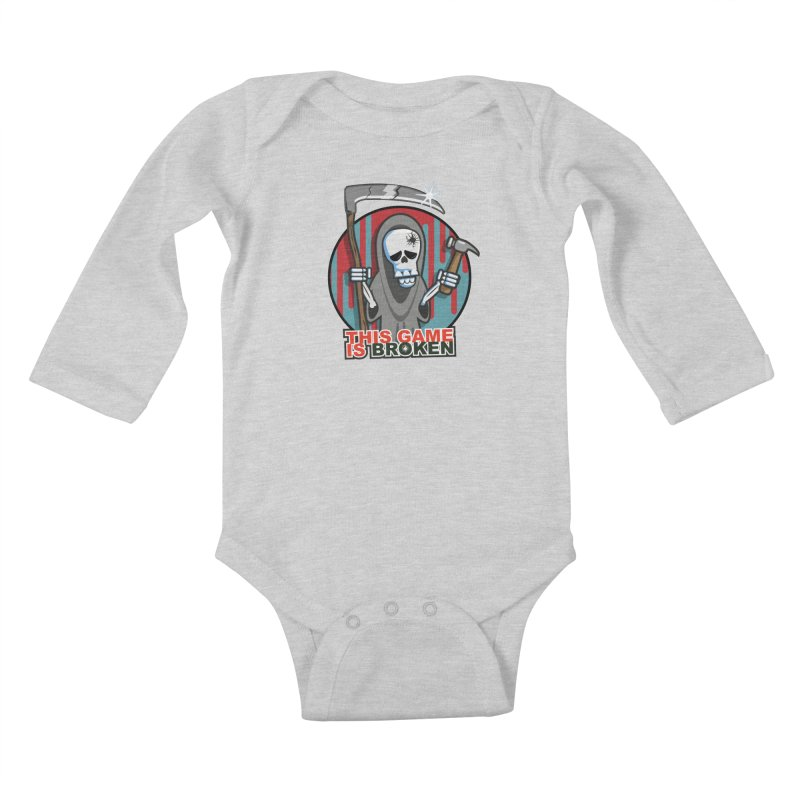 This Game Hates Me Kids Baby Longsleeve Bodysuit by This Game is Broken Shop
