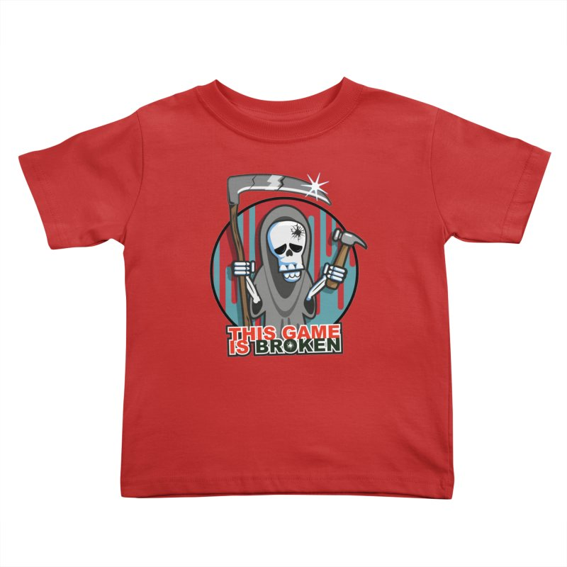 This Game Hates Me Kids Toddler T-Shirt by This Game is Broken Shop
