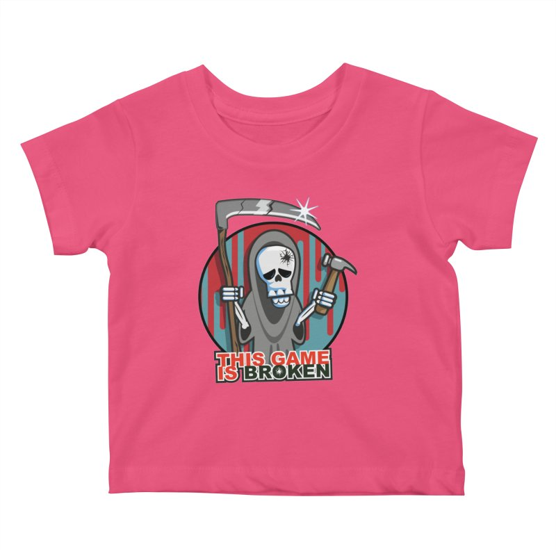 This Game Hates Me Kids Baby T-Shirt by This Game is Broken Shop