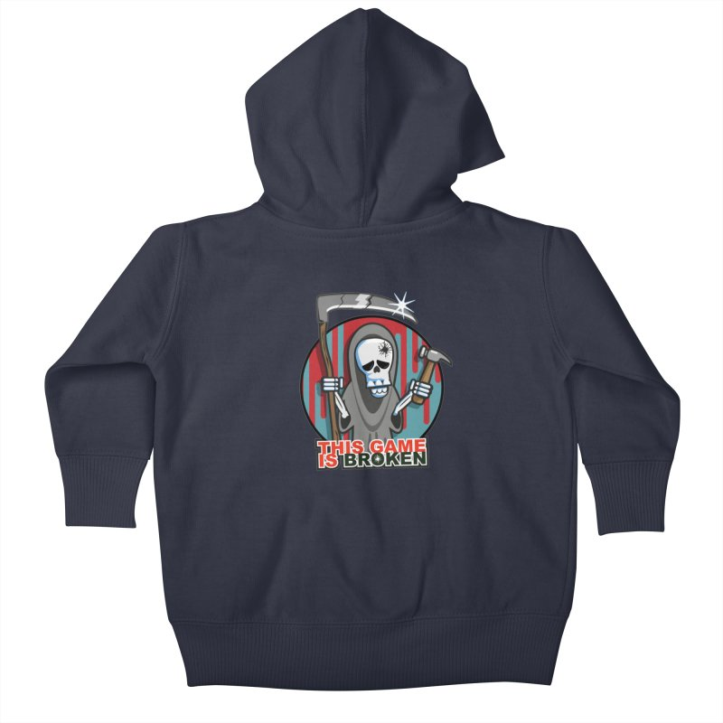 This Game Hates Me Kids Baby Zip-Up Hoody by This Game is Broken Shop