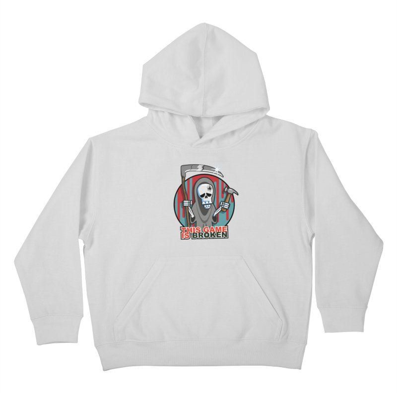 This Game Hates Me Kids Pullover Hoody by This Game is Broken Shop