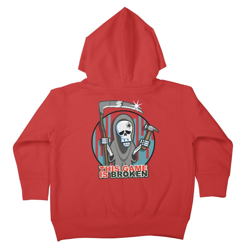 This Game Hates Me Kids Toddler Zip-Up Hoody by This Game is Broken Shop