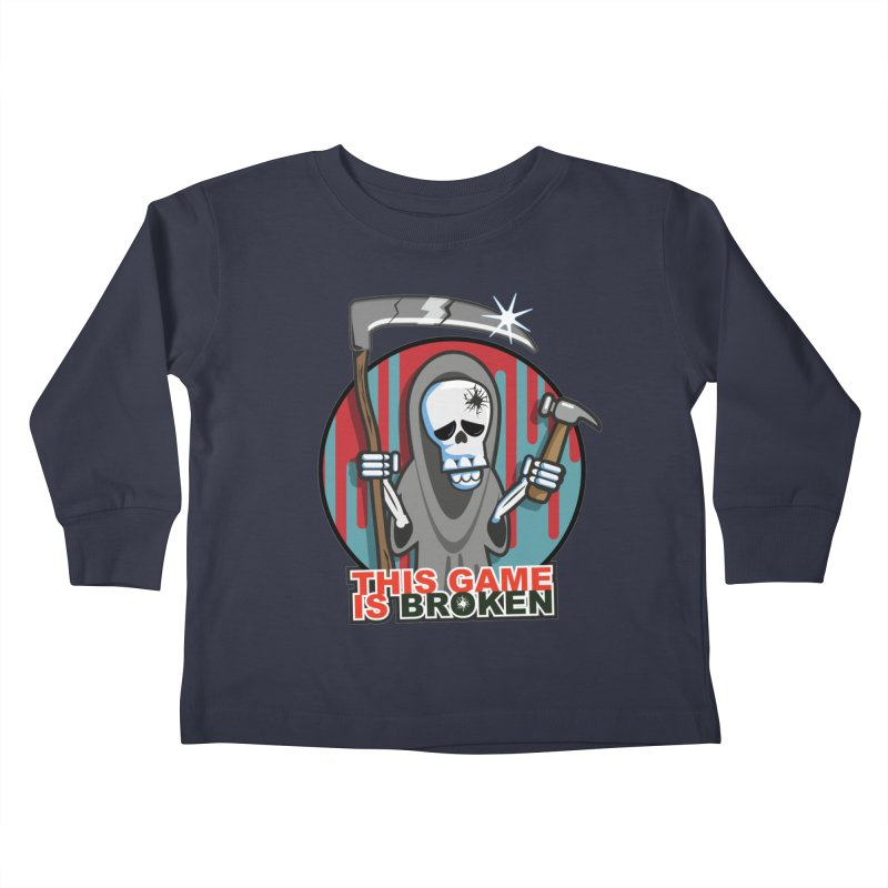 This Game Hates Me Kids Toddler Longsleeve T-Shirt by This Game is Broken Shop