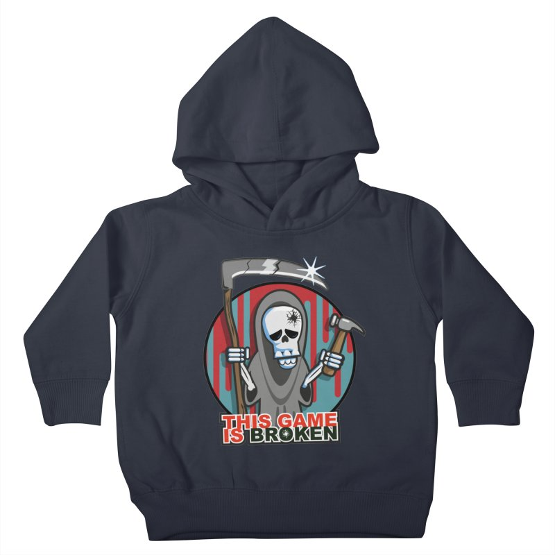 This Game Hates Me Kids Toddler Pullover Hoody by This Game is Broken Shop