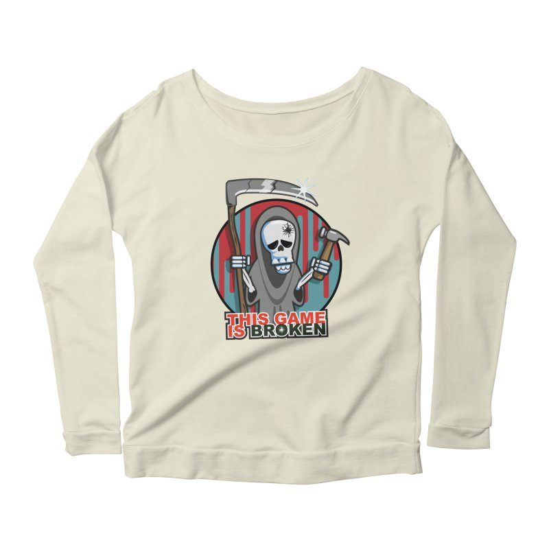 This Game Hates Me Women's Scoop Neck Longsleeve T-Shirt by This Game is Broken Shop