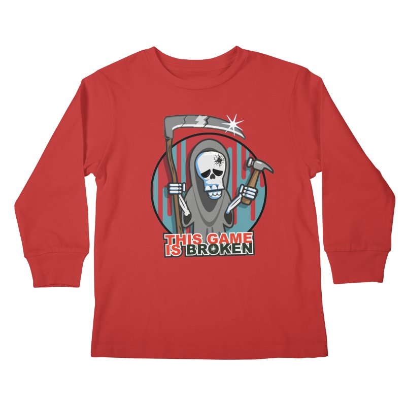 This Game Hates Me Kids Longsleeve T-Shirt by This Game is Broken Shop