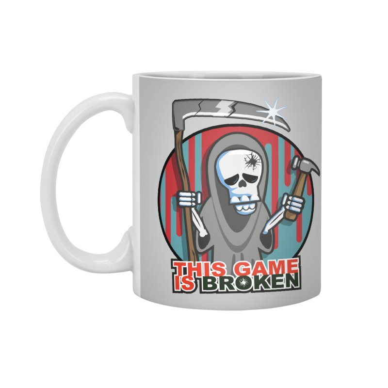 This Game Hates Me Accessories Standard Mug by This Game is Broken Shop