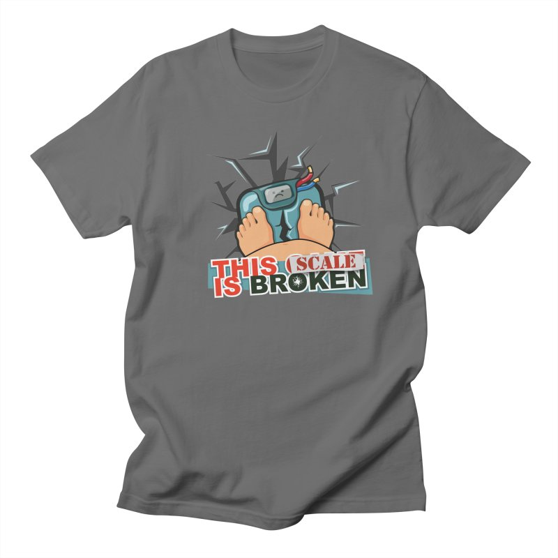 This Scale is Broken! Men's T-Shirt by This Game is Broken Shop