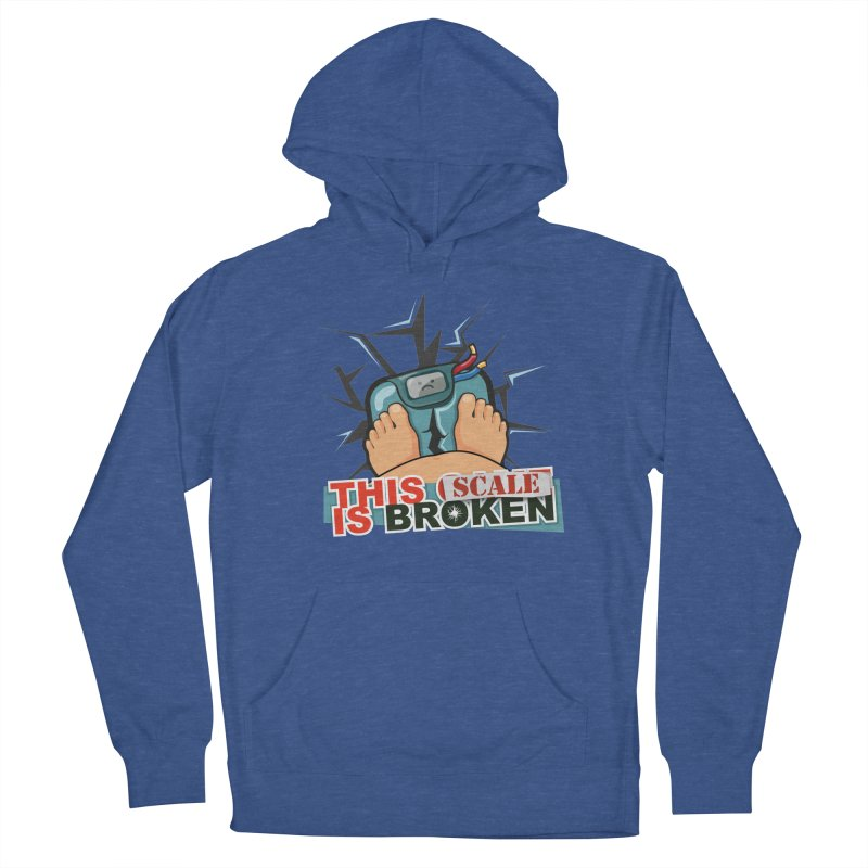 This Scale is Broken! Men's French Terry Pullover Hoody by This Game is Broken Shop