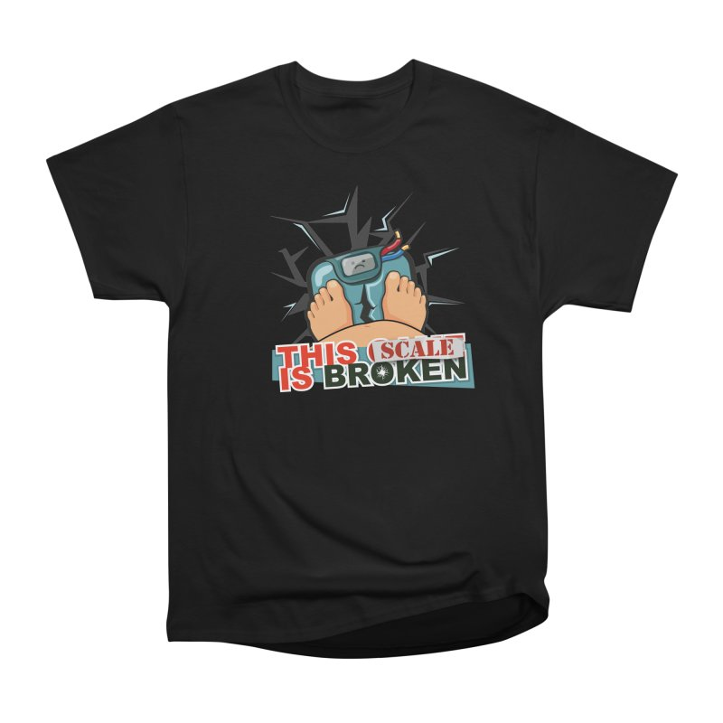 This Scale is Broken! Men's Heavyweight T-Shirt by This Game is Broken Shop