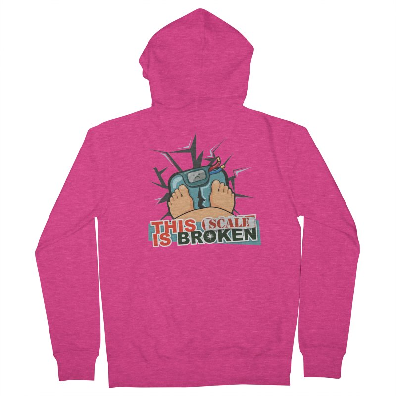 This Scale is Broken! Women's French Terry Zip-Up Hoody by This Game is Broken Shop
