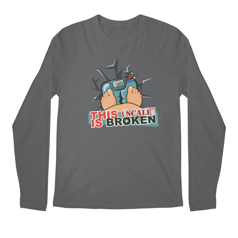 This Scale is Broken! Men's Regular Longsleeve T-Shirt by This Game is Broken Shop