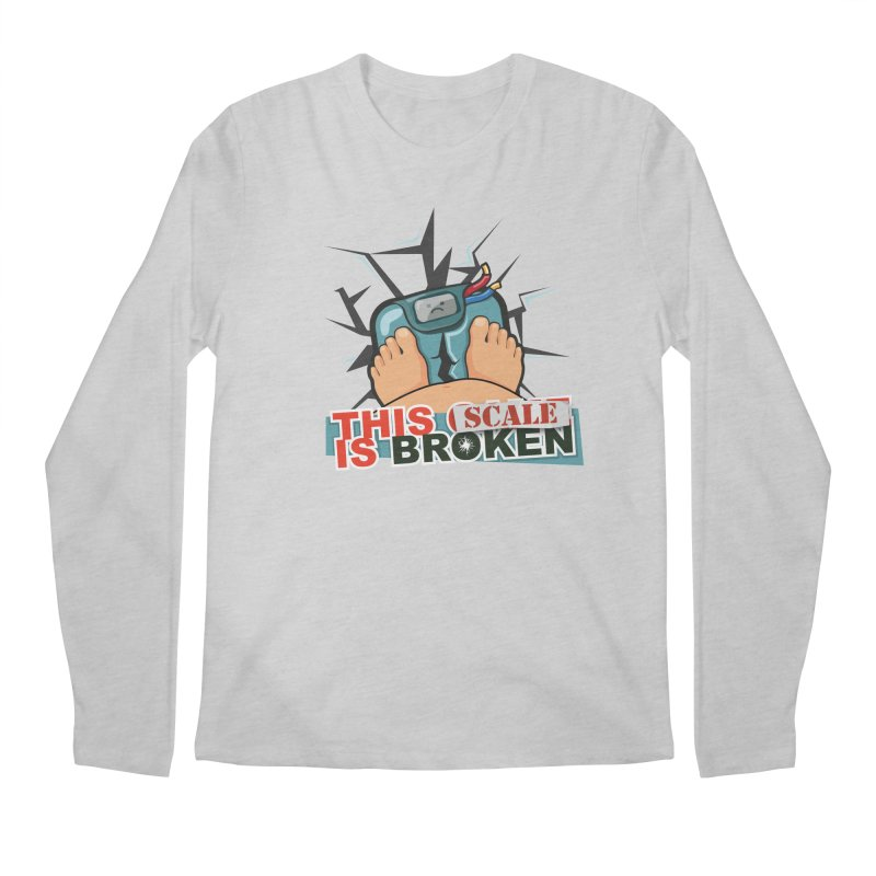 This Scale is Broken! Men's Regular Longsleeve T-Shirt by This Game is Broken Shop