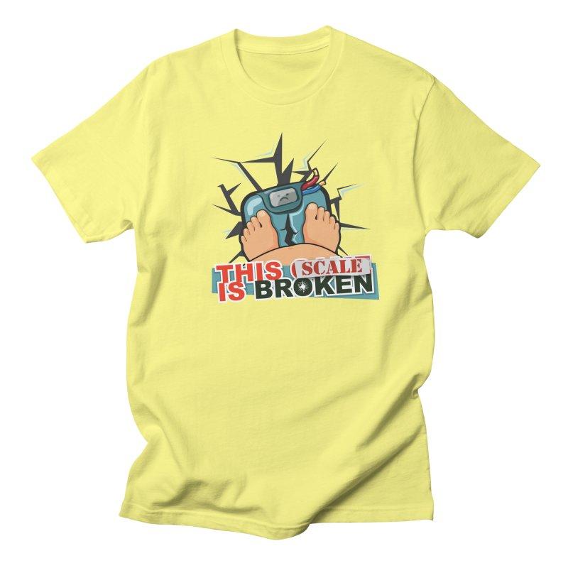This Scale is Broken! Women's Regular Unisex T-Shirt by This Game is Broken Shop