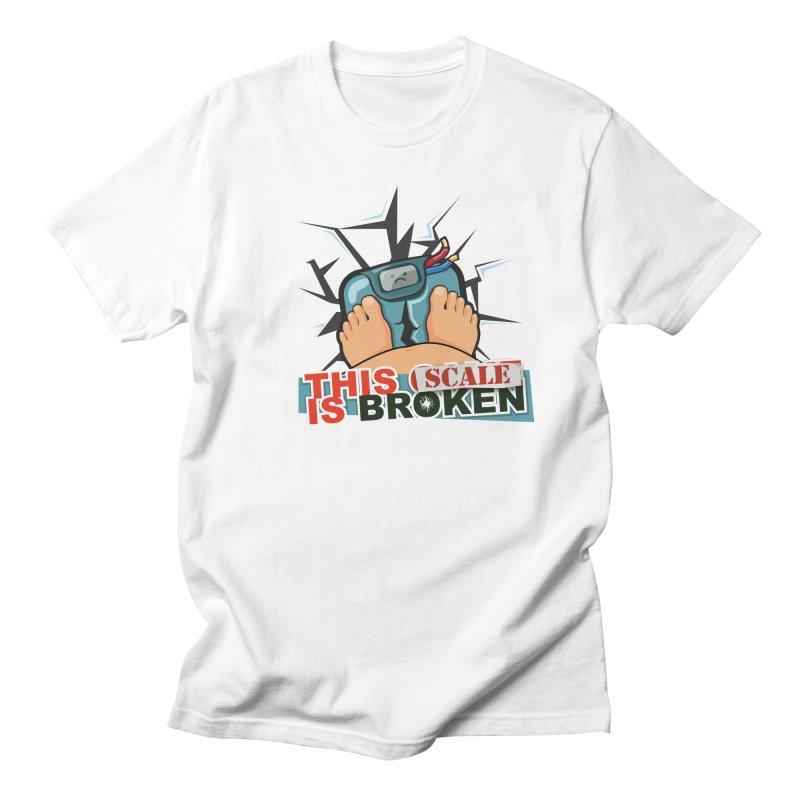 This Scale is Broken! Men's Regular T-Shirt by This Game is Broken Shop