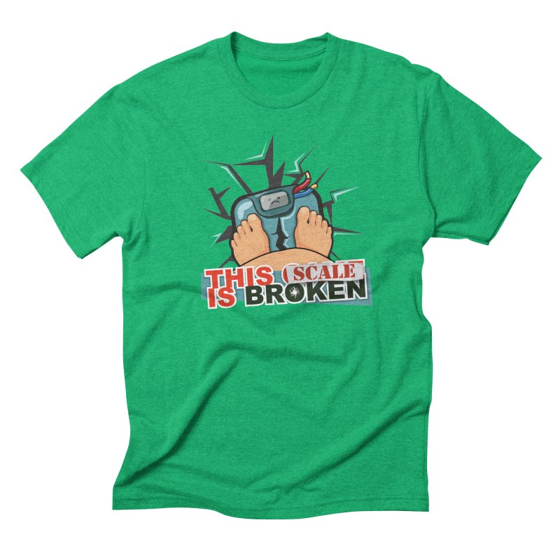 This Scale is Broken! Men's Triblend T-Shirt by This Game is Broken Shop